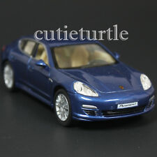 Kinsmart Porsche Panamera S 1:40 Diecast Toy Car Blue