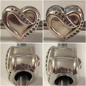 8c40bd6e7 PANDORA RIBBON OF LOVE CHARM REF 791816CZ RRP £40.00 DISCONTINUED | eBay
