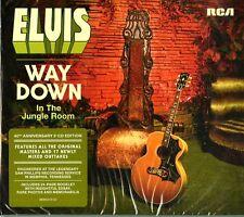 PRESLEY ELVIS WAY DOWN IN THE JUNGLE ROOM DOPPIO CD NUOVO SIGILLATO