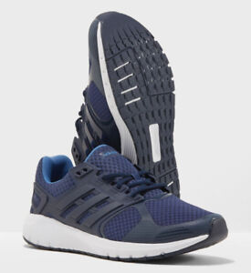 online retailer 67e32 873d7 Image is loading Mens-ADIDAS-DURAMO-8-NOBLE-INDIGO-Running-Shoes-