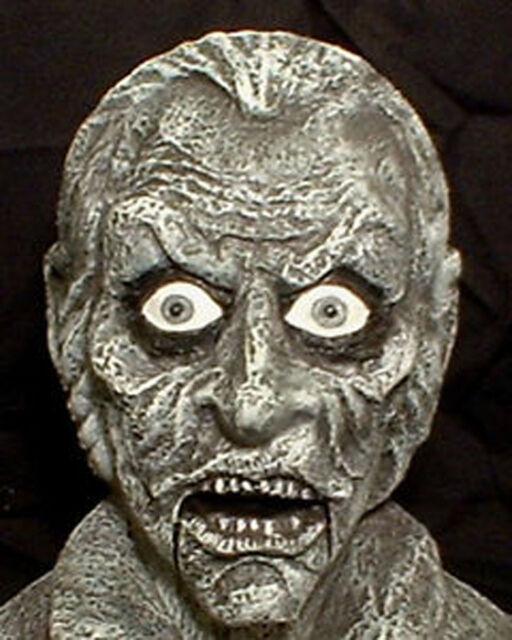 Mr. Grim Ventriloquist Bust   Halloween prop doll dummy Haunted Mansion House