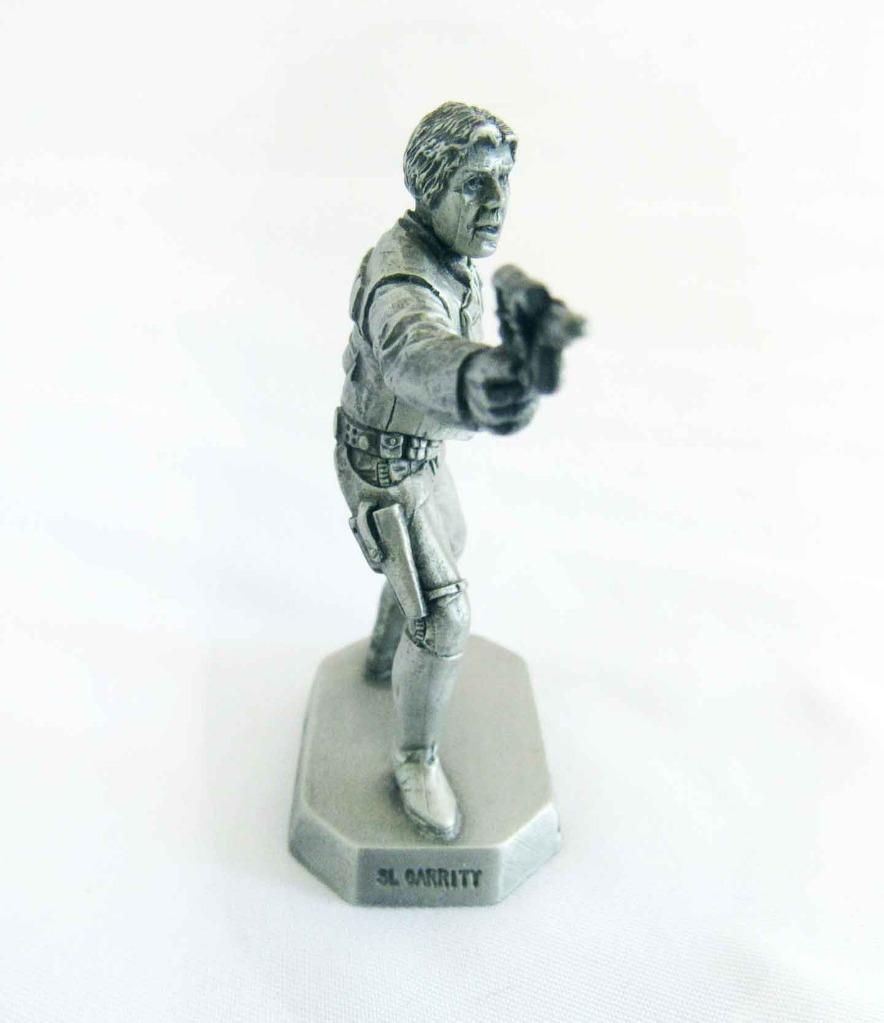Vintage Star Wars Rawcliffe Fine Pewter Miniature Han Solo RF960 1994 Mint