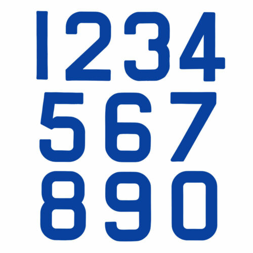 Blue 5 Class Legal Replacement Optimist Sail Numbers