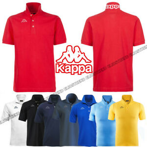 KAPPA-LOGO-LIFE-MSS-POLO-UOMO-PIQUET-COTONE-T-SHIRT-MAGLIA-REGULAR-SPORT-302S1U0