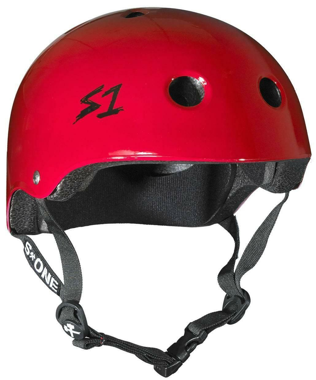 S1 Lifer Multi Impact Helmet -  Red Gloss  affordable