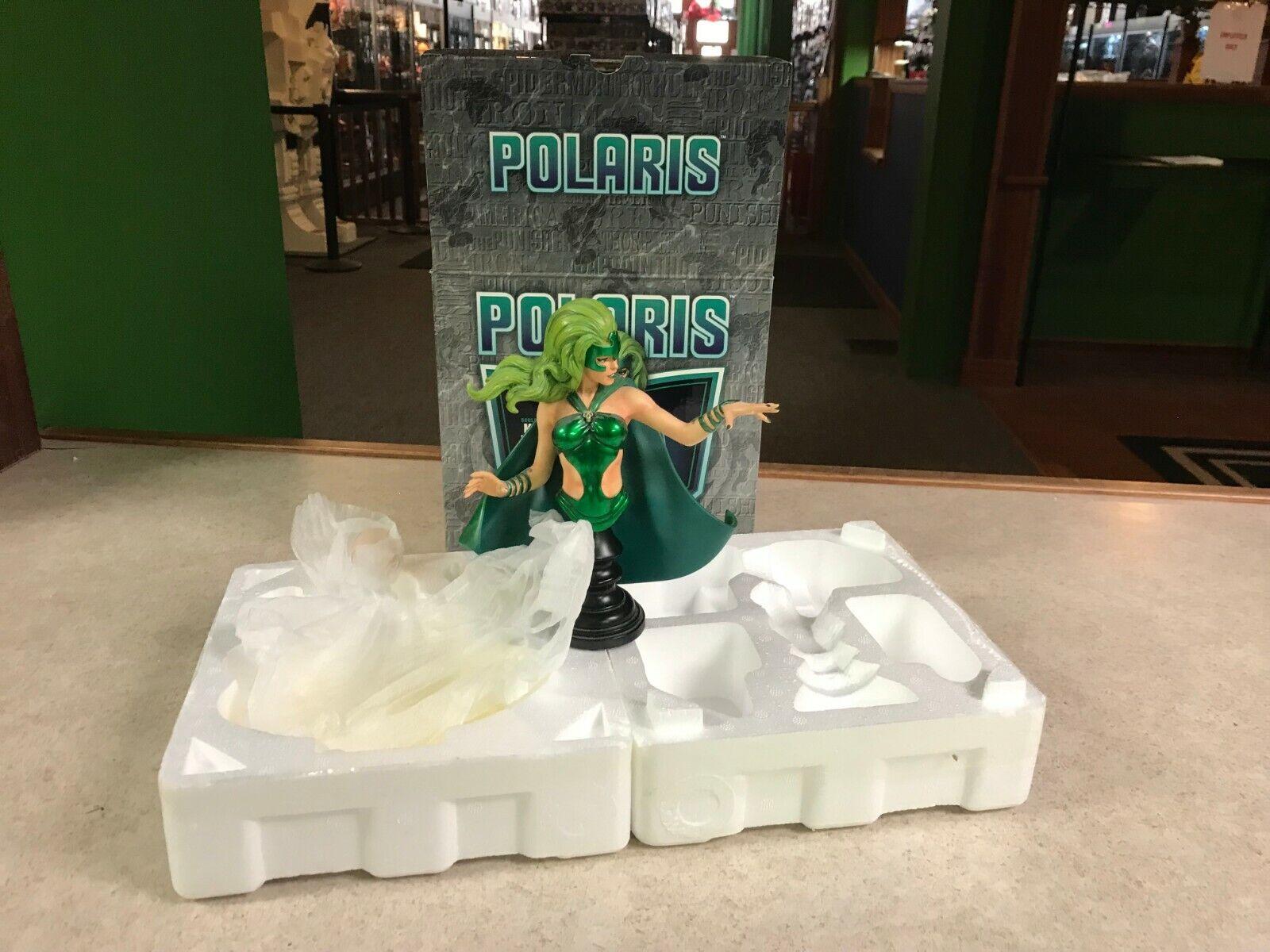2006 Bowen Mini Bust Phase 3 X-Men Polaris Marvel Jim Steranko 7 Statue w  Box