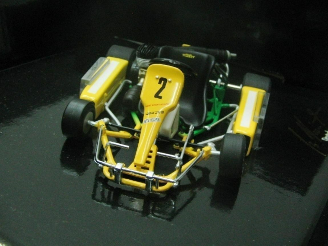 WOW EXTREMELY RARE Kart Schumacher German+European Champion 1987 1 18 Minichamps