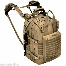 Coyote Deluxe Mini Hospital Military Medic Backpack Survival Emergency Kit Bag