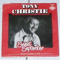 SCHALLPLATTE VINYL  TONY CHRISTIE  SWEET SEPTEMBER