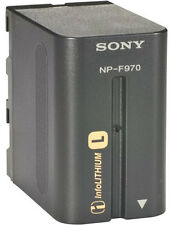 Genuine Sony NP-F970 Original Battery F570 F770 HDR-AX2000E FX1000E MC1500C Z5C