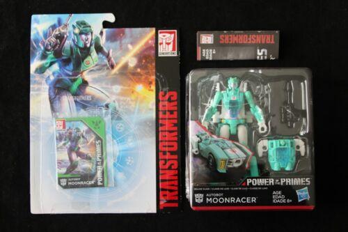 Transformers Génération Puissance des primes Moonracer Figure Comme neuf in box NEW