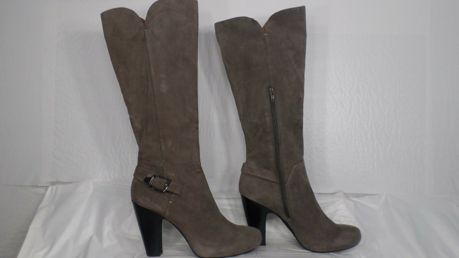 Sofft 'Felicia' Taupe Suede Knee High Dress Boot Women Size 9.5 M