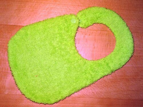 Lätzchen mit Name Waldtiere grün Handmade Farbenmix Tiere
