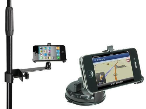 iPhone 4 & iPhone 4S Halterung mit Klemme & Saugnapf für Windschutzscheibe NEU