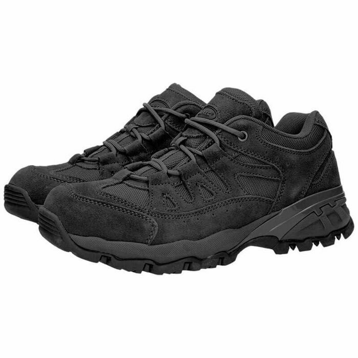 Mil-Tec Squad botas 2,5  Pulgadas Negro Senderismo Militar Workwear