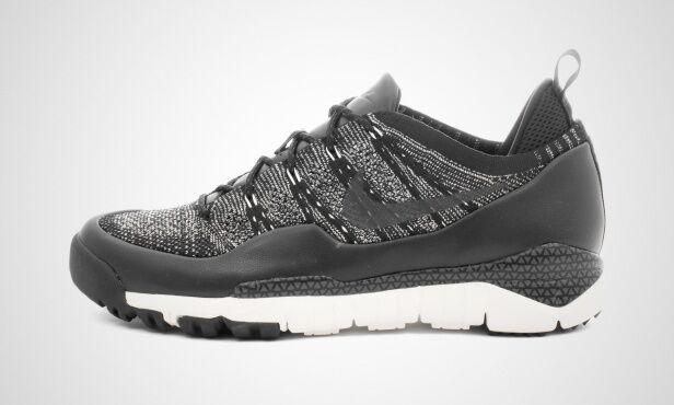 Nike Lupinek Flyknit Low SNEAKERS SAIL BLACK US MENS SIZES 882685-100
