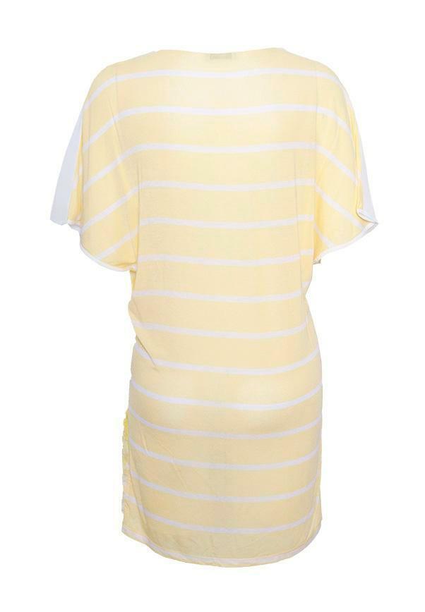 Deby Debo Deby Debo Gelb Paradise Bird Dress Größe X-Small