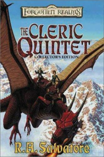 The Cleric Quintet: The Cleric Quintet by R  A  Salvatore (2002, Paperback,  Reprint) for sale online | eBay
