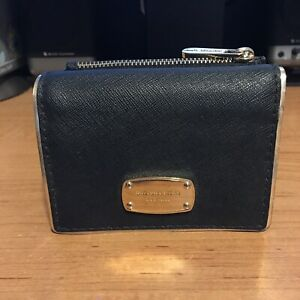 Michael-Kors-Black-Saffiano-Leather-Tri-Fold-Wallet-MK