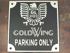 HONDA CLASSIC GOLDWING parking only sign GL1100 motorcycle