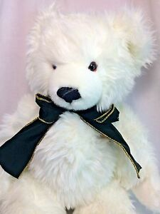 Knickerbocker-75th-Anniversary-Merry-Polar-Bear-BIG-20-034-Musical-Jointed-Teddy