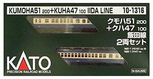 KATO N gauge Kumoha 51200Tasu Kuha 47100 Iida 2-Car Set 10-1316 m Japan import