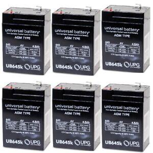 6PK 6V 4.5AH Replacement Battery Sonnenchein A506/4.0S Empire Scientific #SLA4-6