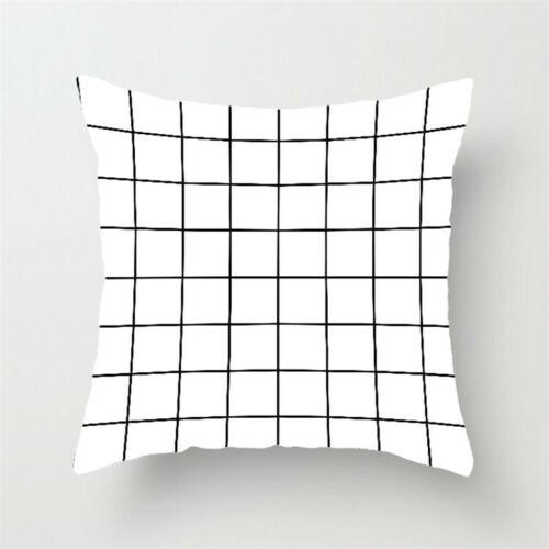 Throw Cover Pillow Case Waist Polyester 18/'/' Cushion Decor Home Sofa