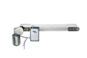 Förderband 90mm x 300mm Transportband Weiss