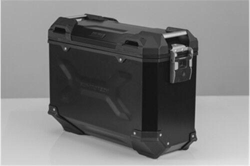 Swmotech Moto Sacoches Trax Adv Aluminium 37l à gauche 45l Droite Noir
