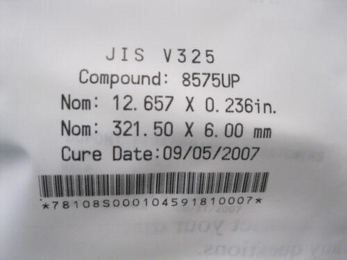 DUPONT JIS V325 O-RING KALREZ 6 X 321.5 mm 12.657 X .236in.