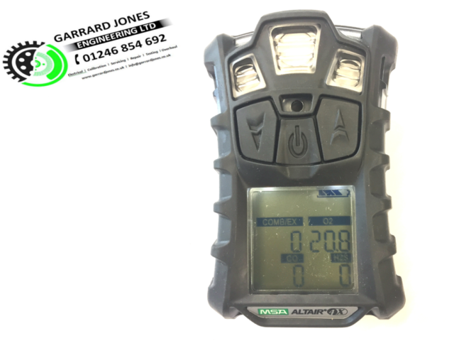 MSA Altair 4X Multi-Gas Detector Complete With Certificate 10110715