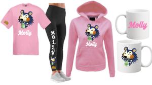 Animal Crossing 2 Filles Rose Ou Blanc 1-12 Cadeau Anniversaire