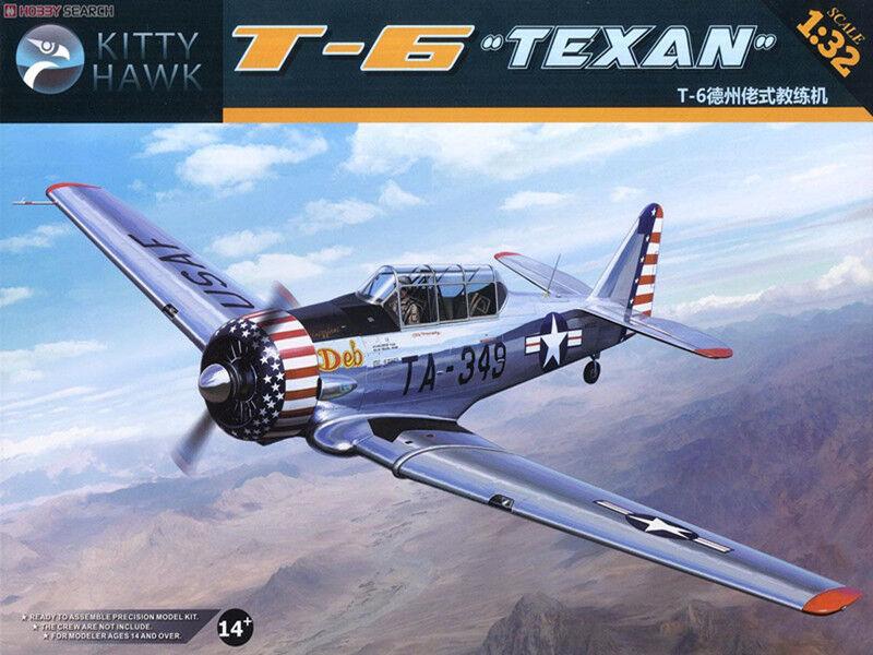 Kitty Hawk KH32001 1 32 T-6 Texan  Model Kit