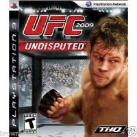 Ufc Undisputed Fighting Game Ps3 Brand Sealed