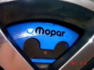 multiple colors MOPAR Dodge Chrysler Emblems 6 total Decals Stickers