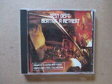 Test Dept. – Beating A Retreat - 1997 UK Enhanced CD - SBZCD023 - RARE & MINT!!