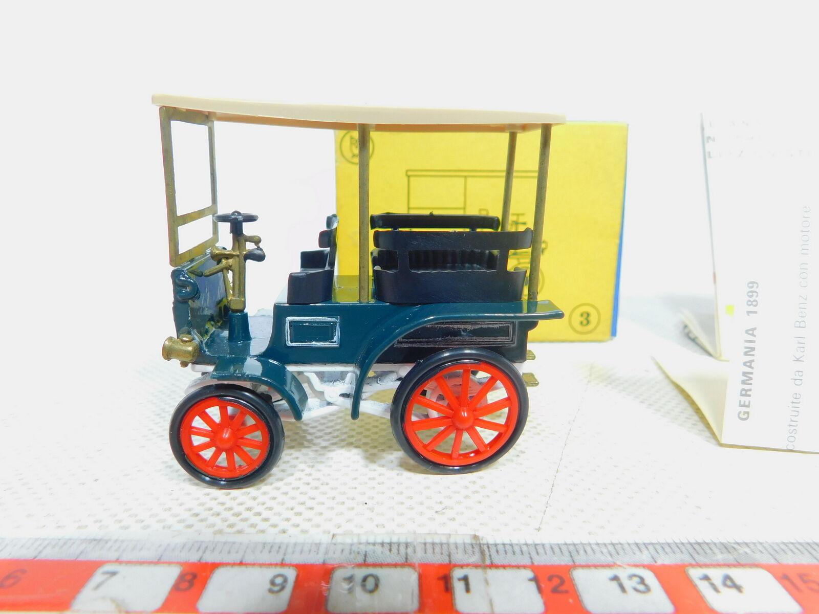 By366-0, 5  DUGU 1 43 No. 3 autobus bus Benz MB BREAK 1899, légèrement peint, neuf dans sa boîte