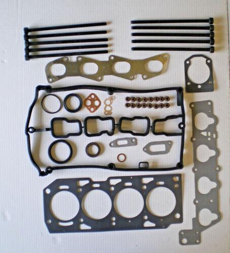 FOR ALFA ROMEO 147 156 166 GT GTV SPIDER 1.8 2.0 HEAD GASKET SET HEAD BOLTS