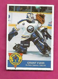 RARE-1993-94-SABRES-GRANT-FUHR-HIGH-LINER-GOALIE-CARD-INV-C0992