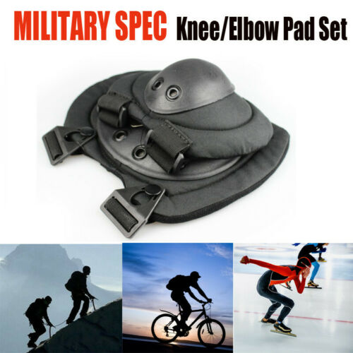 Skate Bicycle Safety Gear Pads Military Spec  Knee Protective Guard  Adjustable