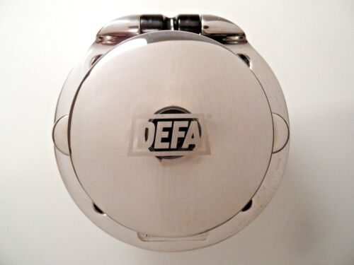 DEFA 700578 Shore Power Inlet 230V Stainess Steel Plugin Socket Sealed for BOATS