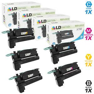 LD-Remanufactured-Lexmark-5PK-2-X792X1KG-1-X792X1CG-1-X792X1MG-1-X792X1YG