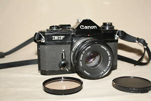 CANON-EF-35mm-FILM-CAMERA-WITH-FD-50mm-1-1-8S-C-LENS-VERY-GOOD-8349
