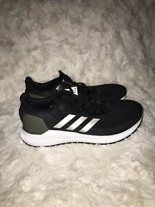 Details about New Mens Adidas Solar Blaze Running Shoes - Black - Size 8