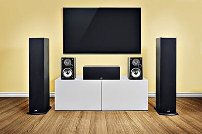 Polk Audio T50 Home Theater and Music Floor Standing Tower Speaker (Single, Blac