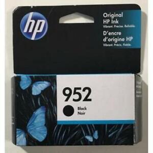 HP #952 F6U15A Black Ink Cartridge Genuine New 8710 8210 8720