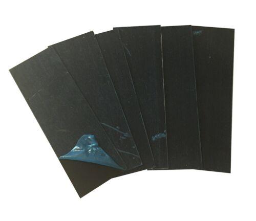"5005 Satin Black Anodized Aluminum Sheet Plate 2/""x6/"" .040/"" 6pc 18ga"