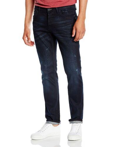 Tom Tailor Aedan Regular Fit w34//l34 Slim Leg Blue pelliculés Denim bleu
