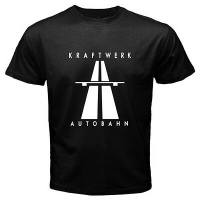 New KRAFTWERK Autobahn Electronic Band Men/'s Black T-Shirt Size S M L XL 2XL 3XL